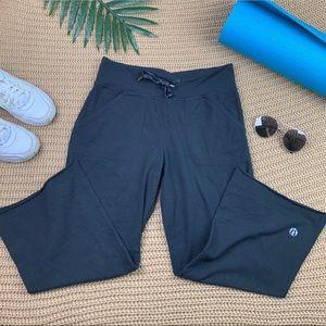 Lululemon Wide Leg Pocket Cutout Pants